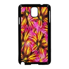 Floral Pattern Background Seamless Samsung Galaxy Note 3 Neo Hardshell Case (black)