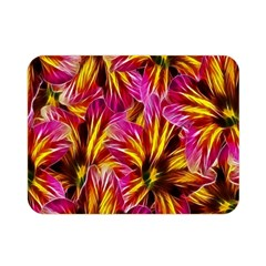 Floral Pattern Background Seamless Double Sided Flano Blanket (mini)