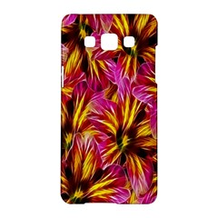Floral Pattern Background Seamless Samsung Galaxy A5 Hardshell Case