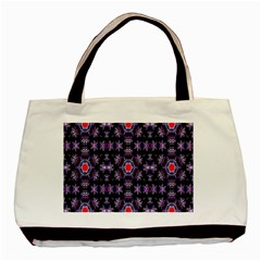 Digital Computer Graphic Seamless Wallpaper Basic Tote Bag (Two Sides)