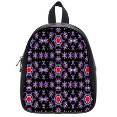 Digital Computer Graphic Seamless Wallpaper School Bags (Small)
