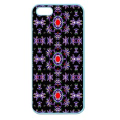 Digital Computer Graphic Seamless Wallpaper Apple Seamless Iphone 5 Case (color)