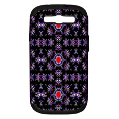 Digital Computer Graphic Seamless Wallpaper Samsung Galaxy S Iii Hardshell Case (pc+silicone)