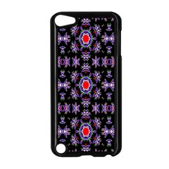 Digital Computer Graphic Seamless Wallpaper Apple Ipod Touch 5 Case (black)