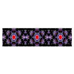 Digital Computer Graphic Seamless Wallpaper Satin Scarf (oblong)