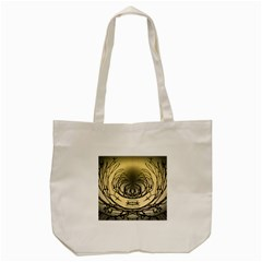 Atmospheric Black Branches Abstract Tote Bag (Cream)