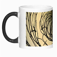 Atmospheric Black Branches Abstract Morph Mugs
