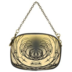 Atmospheric Black Branches Abstract Chain Purses (One Side)