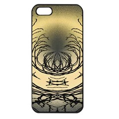 Atmospheric Black Branches Abstract Apple Iphone 5 Seamless Case (black)