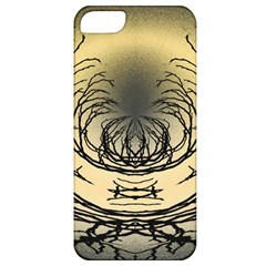 Atmospheric Black Branches Abstract Apple iPhone 5 Classic Hardshell Case