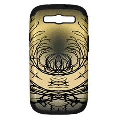 Atmospheric Black Branches Abstract Samsung Galaxy S Iii Hardshell Case (pc+silicone)