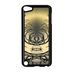 Atmospheric Black Branches Abstract Apple iPod Touch 5 Case (Black)
