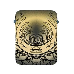 Atmospheric Black Branches Abstract Apple iPad 2/3/4 Protective Soft Cases