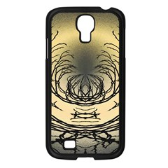 Atmospheric Black Branches Abstract Samsung Galaxy S4 I9500/ I9505 Case (black)