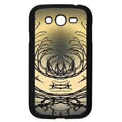 Atmospheric Black Branches Abstract Samsung Galaxy Grand Duos I9082 Case (black)