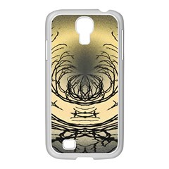 Atmospheric Black Branches Abstract Samsung Galaxy S4 I9500/ I9505 Case (white)