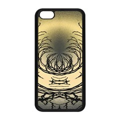 Atmospheric Black Branches Abstract Apple iPhone 5C Seamless Case (Black)
