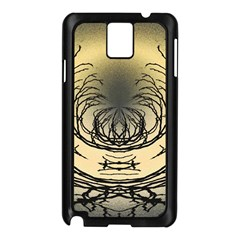 Atmospheric Black Branches Abstract Samsung Galaxy Note 3 N9005 Case (Black)
