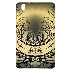 Atmospheric Black Branches Abstract Samsung Galaxy Tab Pro 8 4 Hardshell Case