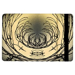 Atmospheric Black Branches Abstract Ipad Air Flip