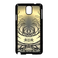 Atmospheric Black Branches Abstract Samsung Galaxy Note 3 Neo Hardshell Case (black)