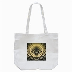 Atmospheric Black Branches Abstract Tote Bag (white)