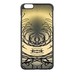 Atmospheric Black Branches Abstract Apple Iphone 6 Plus/6s Plus Black Enamel Case