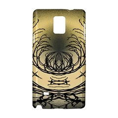 Atmospheric Black Branches Abstract Samsung Galaxy Note 4 Hardshell Case