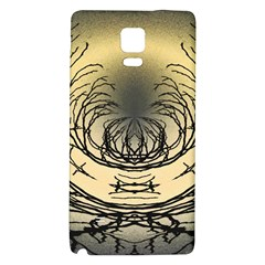 Atmospheric Black Branches Abstract Galaxy Note 4 Back Case