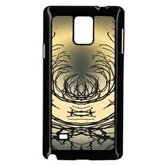 Atmospheric Black Branches Abstract Samsung Galaxy Note 4 Case (black)