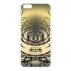 Atmospheric Black Branches Abstract Apple Seamless iPhone 6 Plus/6S Plus Case (Transparent)