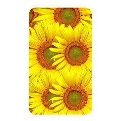 Sunflowers Background Wallpaper Pattern Memory Card Reader