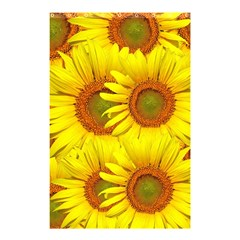Sunflowers Background Wallpaper Pattern Shower Curtain 48  X 72  (small)