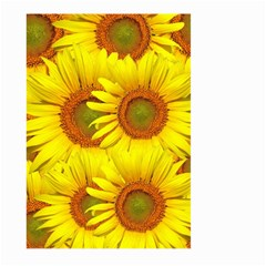 Sunflowers Background Wallpaper Pattern Large Garden Flag (two Sides)