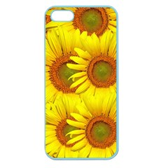 Sunflowers Background Wallpaper Pattern Apple Seamless iPhone 5 Case (Color)