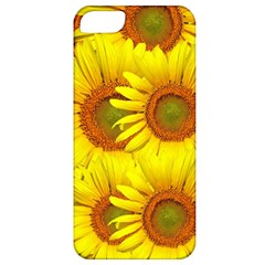 Sunflowers Background Wallpaper Pattern Apple Iphone 5 Classic Hardshell Case