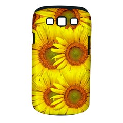 Sunflowers Background Wallpaper Pattern Samsung Galaxy S Iii Classic Hardshell Case (pc+silicone)