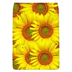 Sunflowers Background Wallpaper Pattern Flap Covers (L)