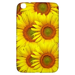 Sunflowers Background Wallpaper Pattern Samsung Galaxy Tab 3 (8 ) T3100 Hardshell Case
