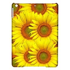 Sunflowers Background Wallpaper Pattern iPad Air Hardshell Cases