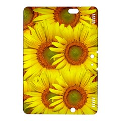 Sunflowers Background Wallpaper Pattern Kindle Fire HDX 8.9  Hardshell Case