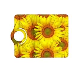Sunflowers Background Wallpaper Pattern Kindle Fire Hd (2013) Flip 360 Case