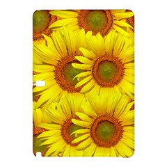 Sunflowers Background Wallpaper Pattern Samsung Galaxy Tab Pro 10.1 Hardshell Case