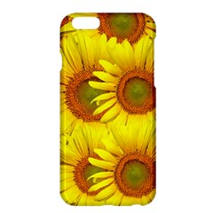 Sunflowers Background Wallpaper Pattern Apple Iphone 6 Plus/6s Plus Hardshell Case