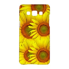 Sunflowers Background Wallpaper Pattern Samsung Galaxy A5 Hardshell Case
