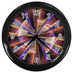 Background Image With Wheel Of Fortune Wall Clocks (black)