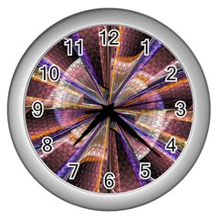 Background Image With Wheel Of Fortune Wall Clocks (silver)