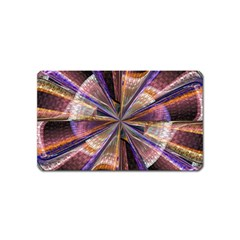 Background Image With Wheel Of Fortune Magnet (name Card)