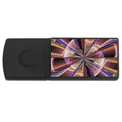 Background Image With Wheel Of Fortune USB Flash Drive Rectangular (2 GB)