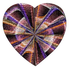 Background Image With Wheel Of Fortune Jigsaw Puzzle (Heart)